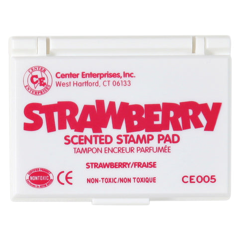 Scented Stamp Pad, Strawberry/Hot Pink