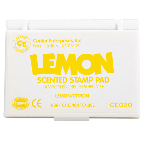 Scented Stamp Pad, Lemon/Yellow