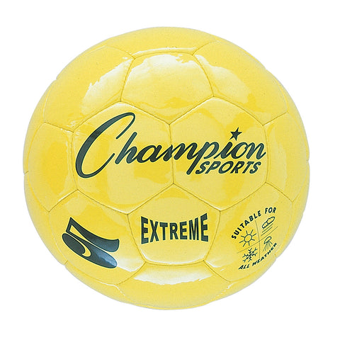 Extreme Soccer Ball, Size 5, Yellow
