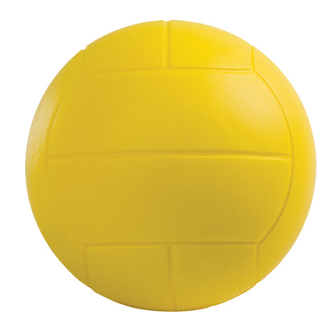 Coated High Density Foam Volleyball, Yellow