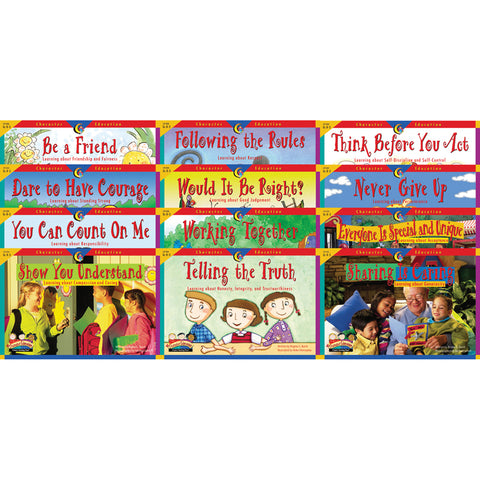 Character Education 12 Books