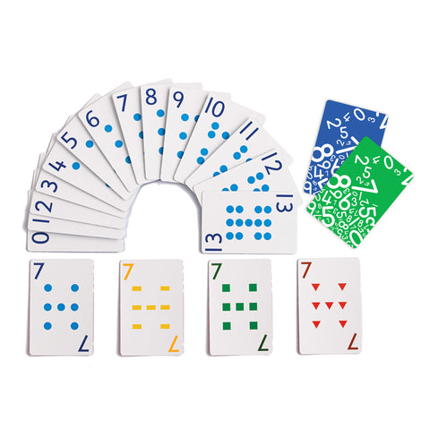 School Friendly Playing Cards, 8 Decks