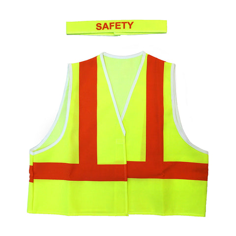 Safety Jacket Dress-Up Costume