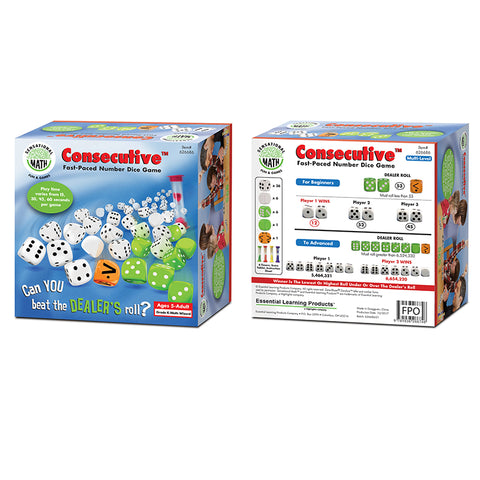 Consecutive Fast-Paced Number Dice Game