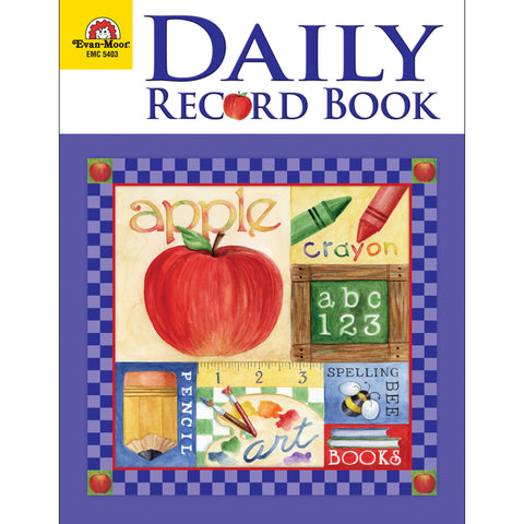 School Days Daily Record Book