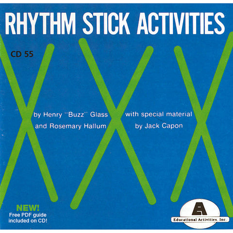 Rhythm Stick Activities Cd
