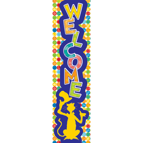 Dr Seuss Spot Seuss Welcome Banner