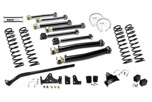 Jeep JK Enforcer Kit 4.0 Inch with Draglink Flip Stage 3 07-18 Wrangler JK EVO Manufacturing