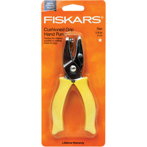 Hand Punches 1/4 Inch Star By Fiskars Manufacturing