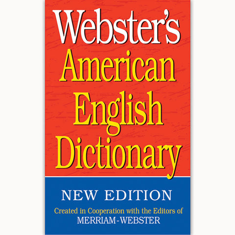 Websters American English