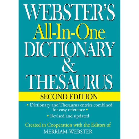 Websters All In One Dictionary &