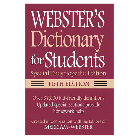 Webster Dictionary For Students