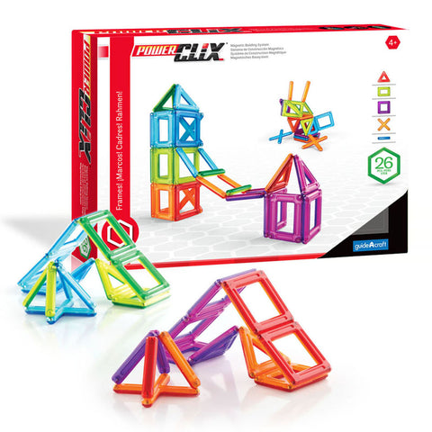 Powerclix Frames 26 Pieces
