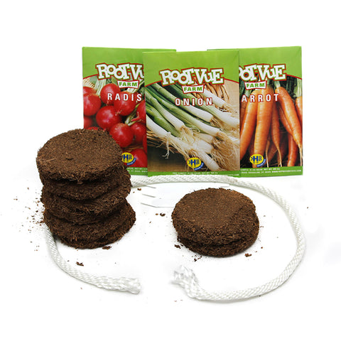 Root-Vue Farm Kit, Refill, Pack Of 8