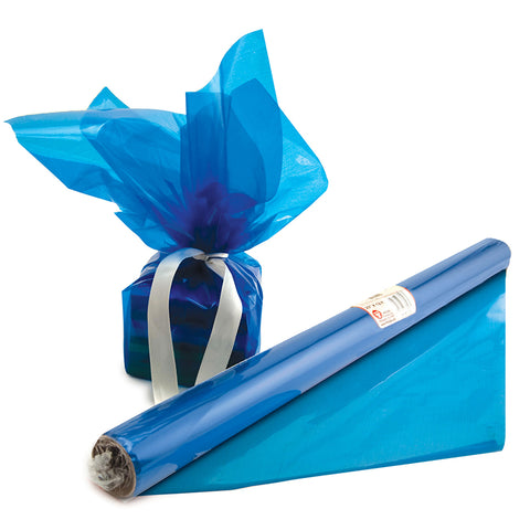Cello Wrap Roll Blue By Hygloss Products Inc.