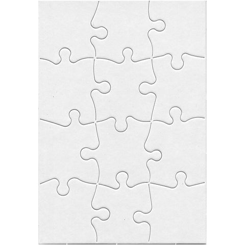 Compoz A Puzzle 5.5X8In Rect 12Pc
