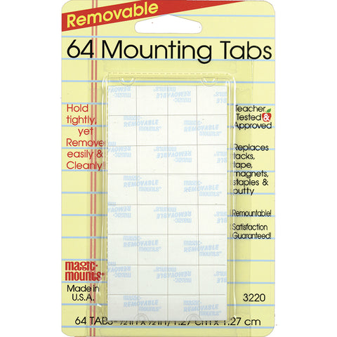 Magic Mounts Mounting Tabs 1/2X1/2
