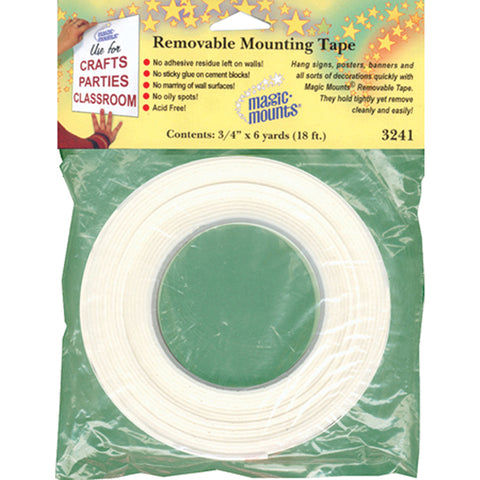 Wall Mounting Tape 3/4 X 6 Yards