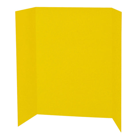 Presentation Board, Yellow, Single Wall, 48 X 36, 1 Board