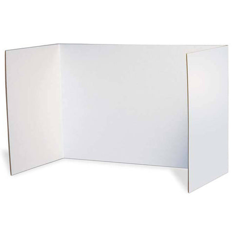 Privacy Boards, White, 48 X 16, 4 Boards