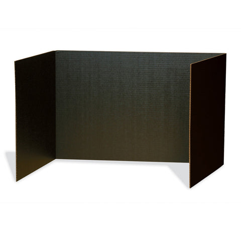 Privacy Boards, Black, 48 X 16, 4 Boards