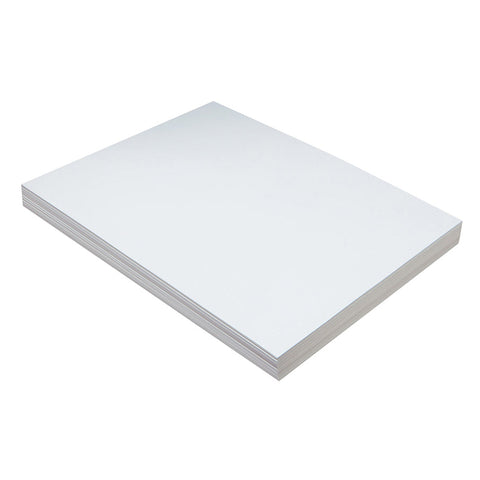 Lightweight Tagboard, White, 9 X 12, 100 Sheets
