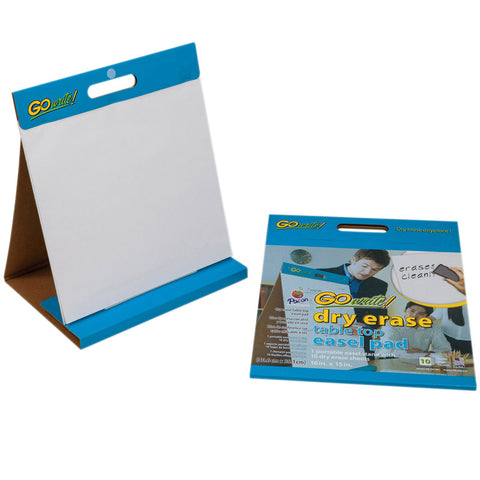 Gowrite Table Easel Pad 16X15 10Ct