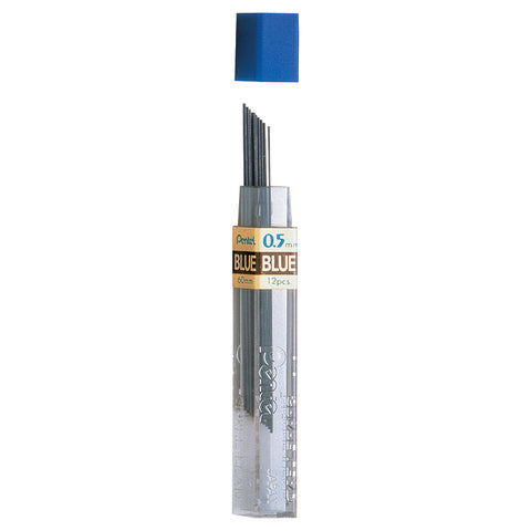 Refill Lead Blue (0.5Mm) Fine 12 Pcs/Tube