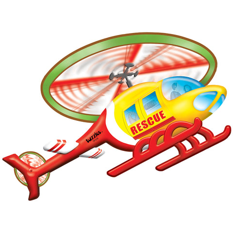 Rescue Helicopter Floor Puzzle