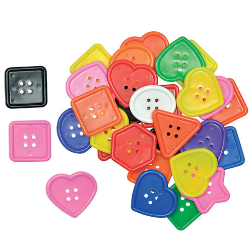 Really Big Buttons 60/Pkg. By Roylco Inc.