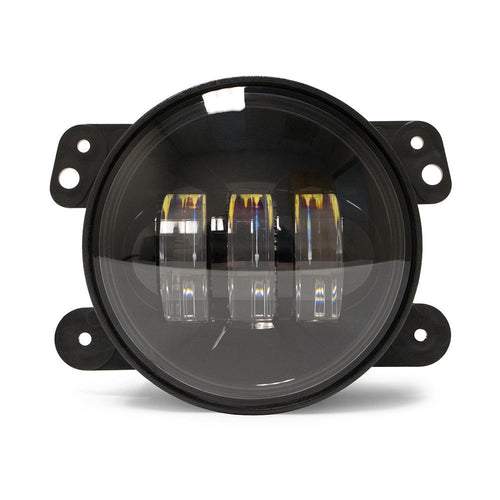 Jeep JK 4 Inch LED 30W Replacement Fog Lights 07-18 Wrangler JK DV8 Offroad