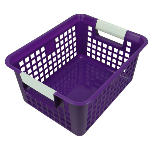 Purple Book Basket