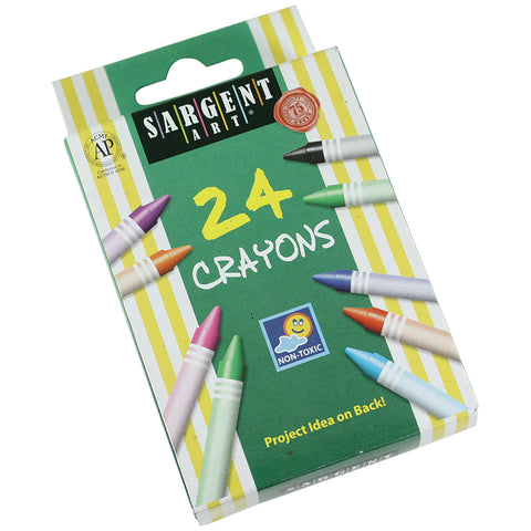 Sargent Art Crayons 24 Count Tuck