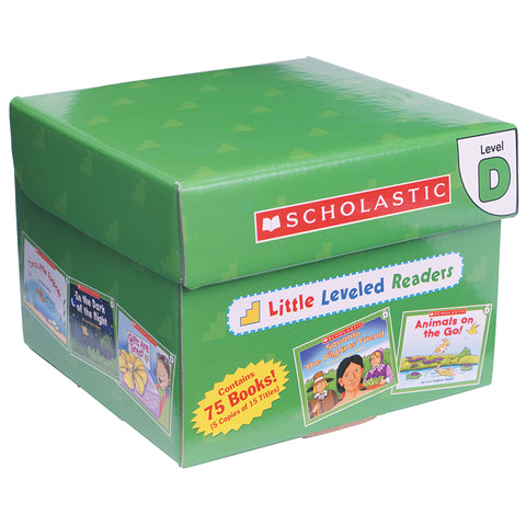 Scholastic Little Leveled Readers Set, Level D
