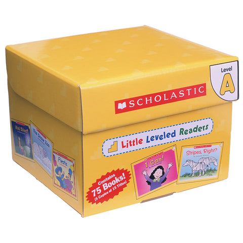 Scholastic Little Leveled Readers Set, Level A