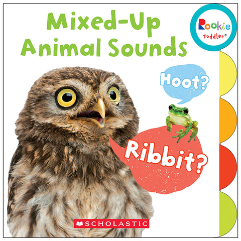 Rookie Toddler Board Book, Mixed-Up Animal Sounds