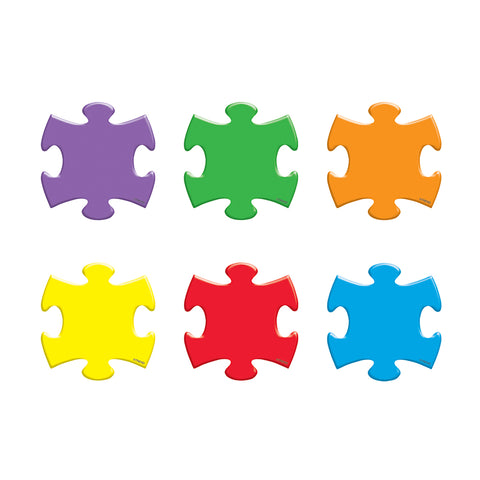 Puzzle Pieces Mini Accents Variety Pack, 36 Ct