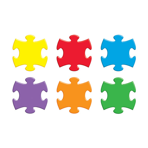 Puzzle Pieces Classic Accents Variety Pack, 36 Ct