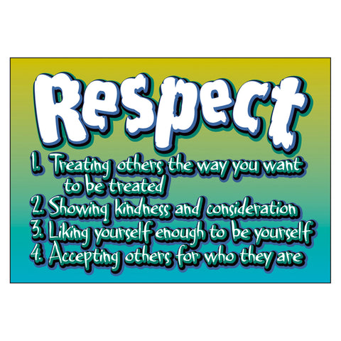 Respect-Treating Others... Argus Poster, 13.375 X 19