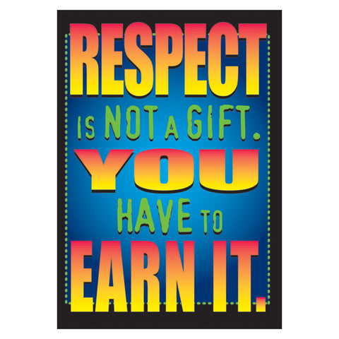 Respect Is Not A Gift. Argus Poster, 13.375 X 19