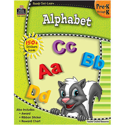 Ready Set Learn Alphabet Gr Pk-K