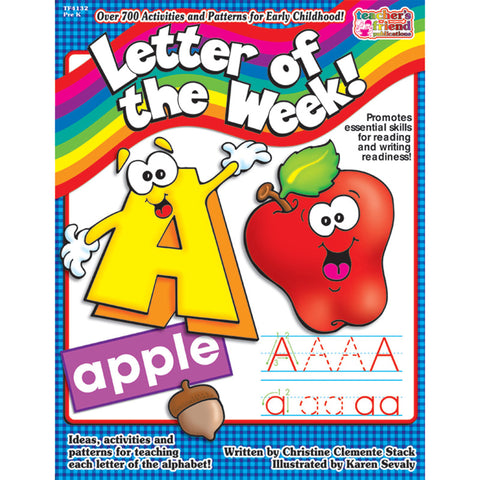 Scholastic Letter Of The Week! Resource Book