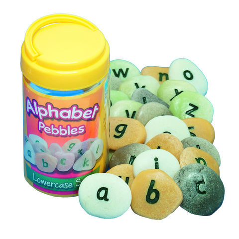 Lowercase Alphabet Pebbles