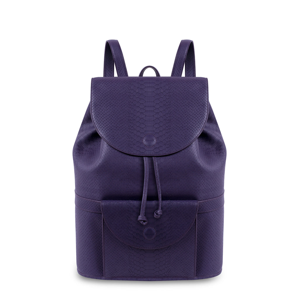Royal Purple City Backpack