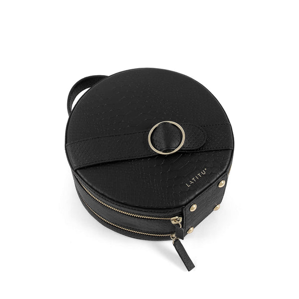 Black Formosa Handbag