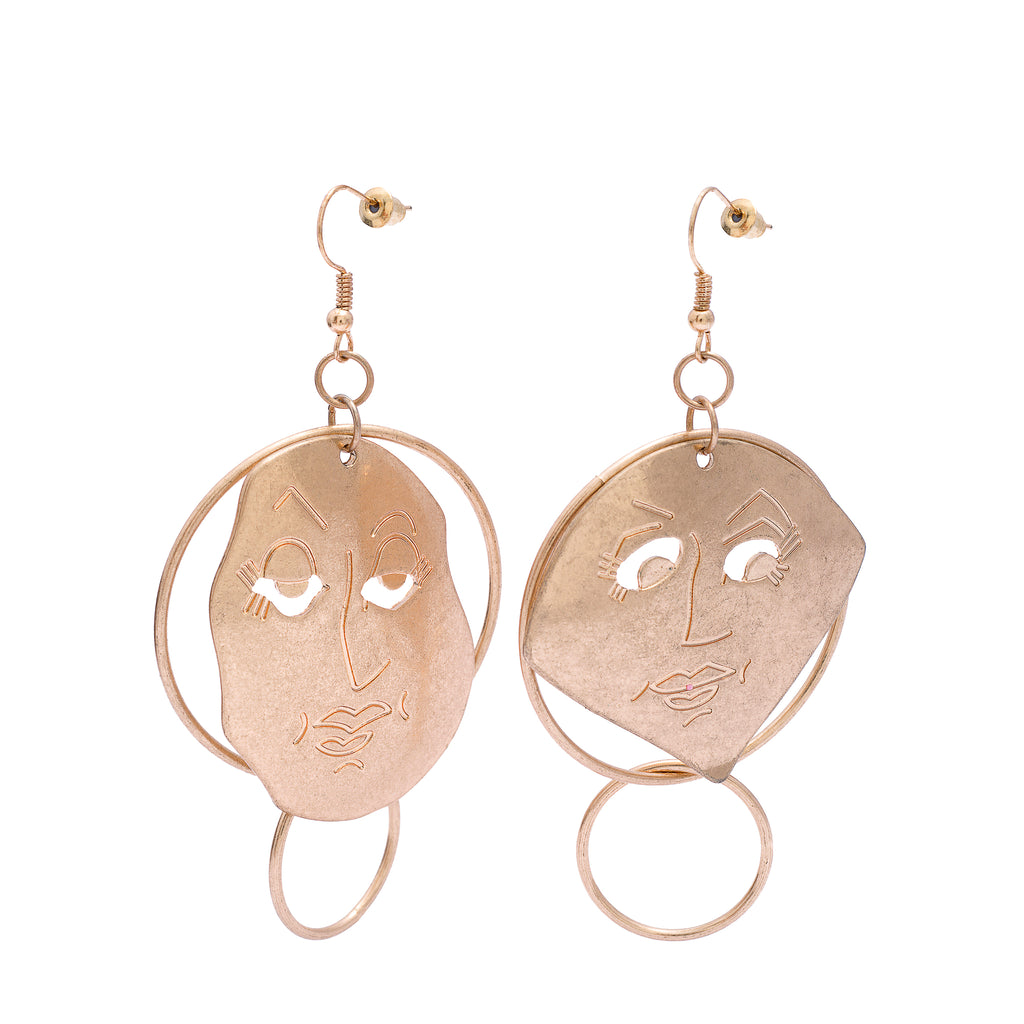 Palawan Two-Faced Earrings