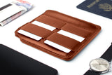 Disc Passport Wallet - Brown - Disc Wallets
