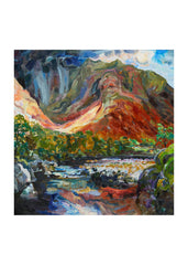 print of Glen Etive Scotland