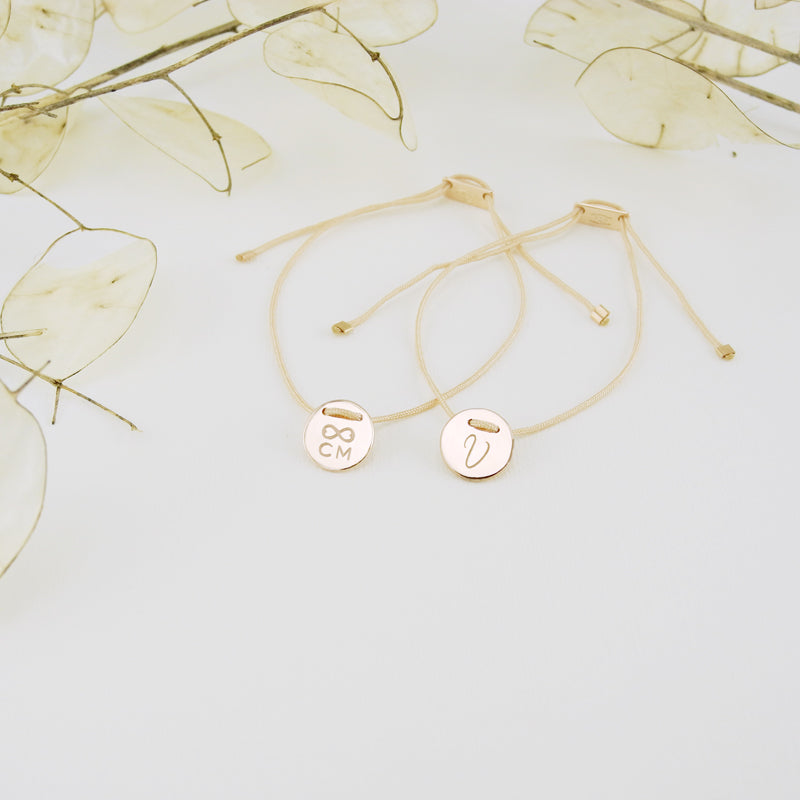 The TALISMAN collection features an array of personalized bracelets. Create something meaningful for yourself or for a loved one with a personal message, monogram, special symbol or a significant date