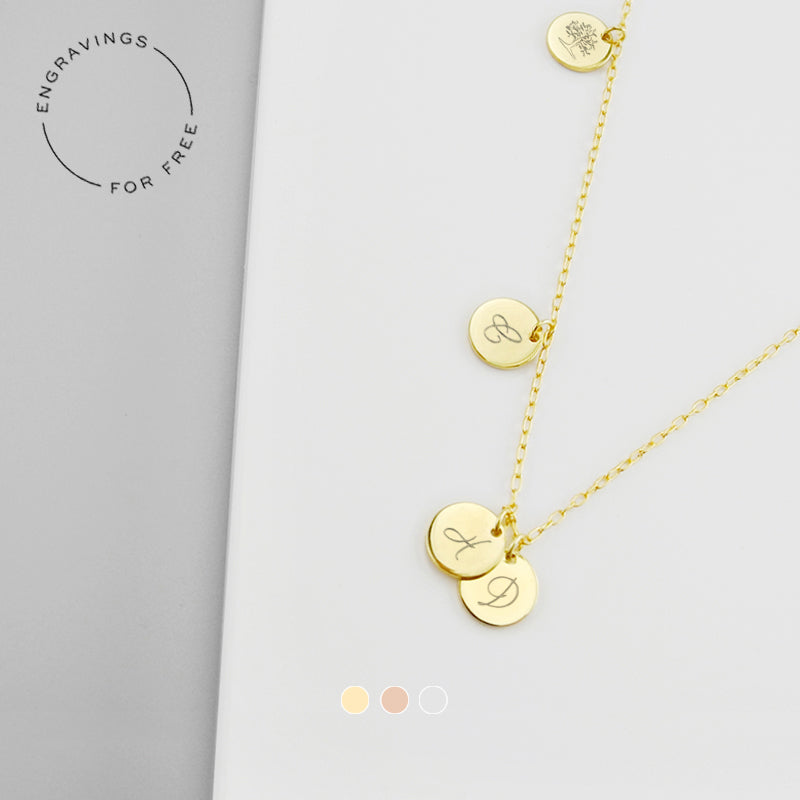 Tell your story on a piece of personalized jewelry with a meaningful message, monogram, special symbol or a significant date. The possibilities are endless. The message is all yours.
